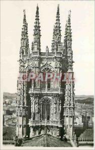 Modern Postcard Burgos Cathedral Catedral Crucero Transept Ediciones Garcia G...