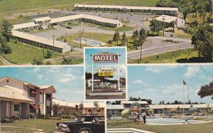 3-Views, Colonial Motel, Swimming Pool, 1,000 Islands Vacation Wonderland, GA...