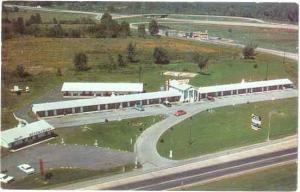 Pike Plaza Motel & Restaurant Ohio Turnpike Interchange 14 Newton Falls OH