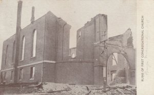KENDUSKEAG, Maine, PU-1911; Ruins of First Congregational Church
