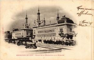 CPA PARIS EXPO 1900 - palais de la Décoration et du Mobilier (307369)