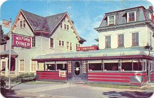 Milford PA Milford Diner Postcard