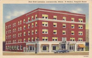 New Hotel Lawrence, Lawrence, Illinois, PU-1954