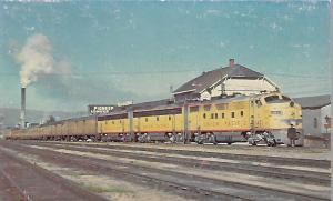 TRAINS, UNION PACIFIC RAILROAD 1451 BUTTE, MONTANA, BUTTE SPECIAL