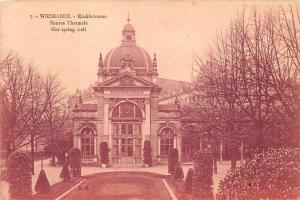Wiesbaden Kochbrunnen, Source Thermale Hot Spring Well