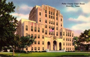 Texas Amarillo Potter County Court House
