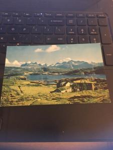 Vintage Postcard; Scandanavia, Near Oslo Norway, Pan Am