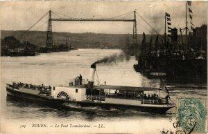 CPA ROUEN-Le Pont Transbordeur (348460)