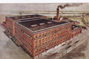 Iowa Davenport The Crescent Macaroni and Cracker Company