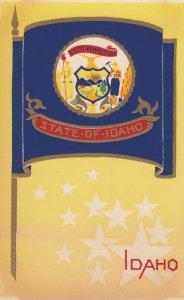 IDAHO , State Flag , 40-50s ; Serigraph