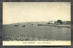 dc422 - PORT TEWFICK Egypt 1910s View of The Harbour