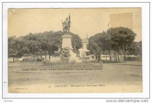 Conakry, GUINEA, 00-10s  Monument du Gouverneur Ballay