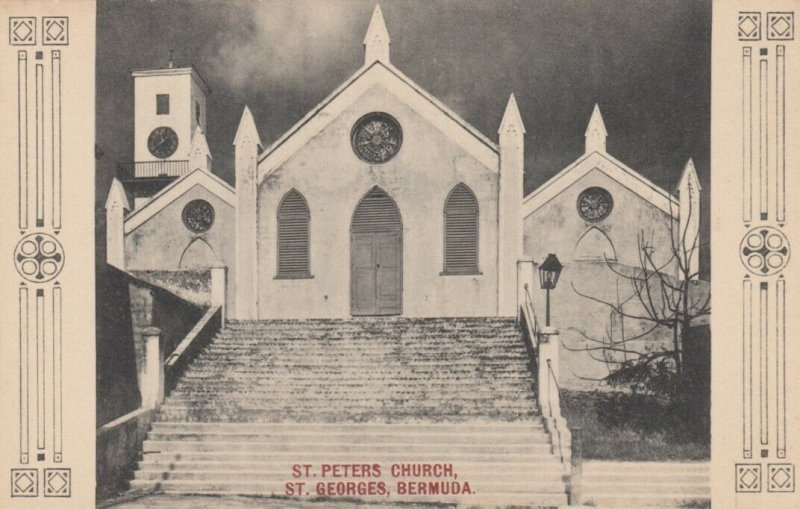 ST. GEORGES BERMUDA , 00-10s ; St Peters Church