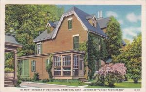 Connecticut New Haven Harriet Beecher Stowe House Author Of Uncle Tom's Cabin...