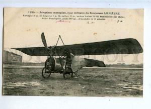 205522 FRANCE Aviation Military airplane pilot LELIEVRE #1720