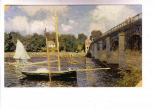 Seine at Argenteuil, Claude Monet, Impressionist, Pushkin Museum, Moscow