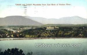 East Bank of Hudson River Catskill NY 1907