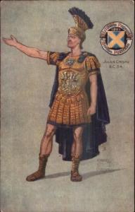 TUCK St. Albans Pageant - Julius Caesar by Robert Groves c1910 Postcard