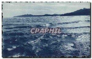 Old Postcard Effect Mer Cap Ferrat