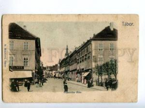 147283 Czech Republic TABOR Vintage undivided back postcard