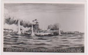 BATTLE OF THE RIVER PLATE  - WW2 WARSHIPS