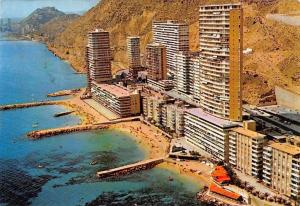 Spain La Albufereta Alicante Playa Air view Beach Strand