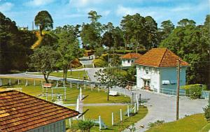 Malaysia Old Vintage Antique Post Card Penang Hill Postal Used Unknown