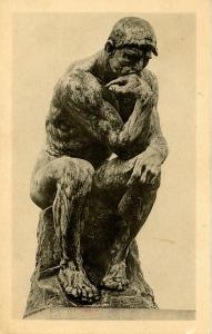 MI - Detroit. Detroit Institute of the Arts. The Thinker by Rodin