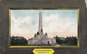 The Lincoln Monument,  Springfield,  Illinois,  PU_1907