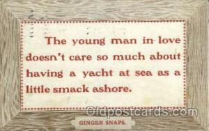 Ginger Snaps Sayings, Quotes, Postcard Postcards  Ginger Snaps