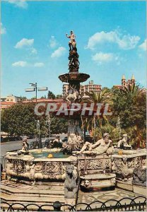 Modern Postcard Kal Bhairab Nepal