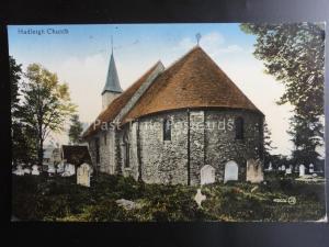 Essex HADLEIGH CHURCH Hadleigh & Thundersley c1904 by Valentine's