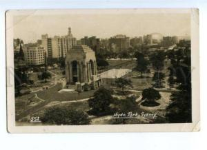 174133 AUSTRALIA SYDNEY Hyde Park Vintage photo postcard