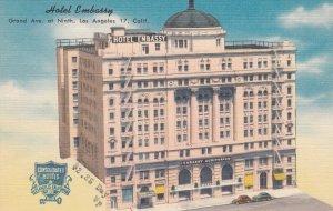 LOS ANGELES , California , 1930-40s ; Hotel Embassy