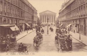 La Rue Royale, Paris, France, 00-10s