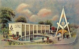 NY - New York World's Fair, 1964-65, The Masonic Brotherhood Center