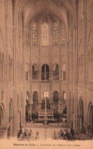 Le Choeur de l'Egklise Notre Dame,Mantes-la-Jolie,France BIN