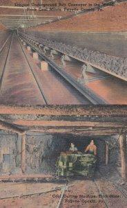 Coal Cutting Machine , Frick Mine , Fayette County , Pennsylvania , 1930-40s