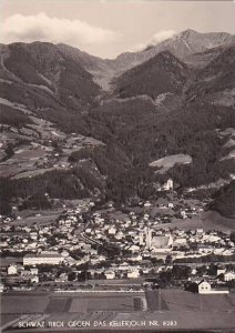 Austria Schwaz Gegen Das Kellerjoch Real Photo