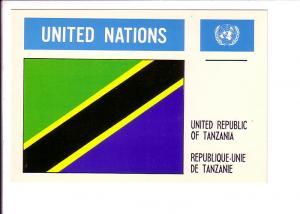 United Republic of Tanzania, Flag, United Nations