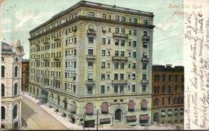New York Albany Hotel Ten Eyck 1906