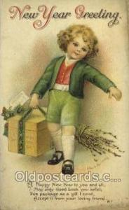 Artist Ellen Clapsaddle, New Year Post Card Postcards