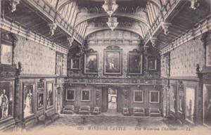 England Windsor Castle The Waterloo Chamber