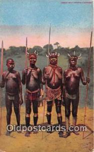 Women Kill Hippopotami Kavirondo Women Postcard Post Card Kavirondo Women Wom...