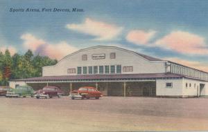 Sports Arena at Fort Devens MA, Massachusetts - Linen