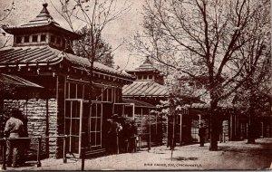 Ohio Cincinnati Zoo The Bird Cages 1909