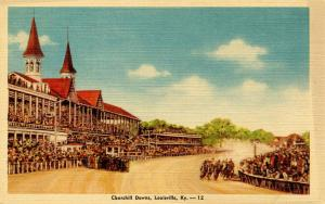 KY - Louisville. Churchill Downs