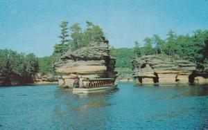 Wisonsin Dells Sugar Bowl Lower Dells Of The Wisconsin River