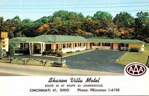 Ohio Sharonville Sharon Villa Motel