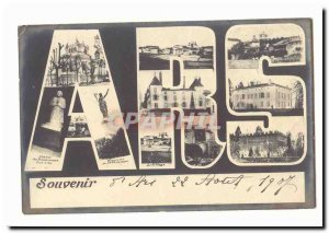 Old Postcard Remembrance d & # 39Ars